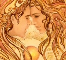"""""""Intimacy"""" from """"Love Angels"""" series Sticker"""