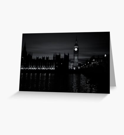 Gothic Night Greeting Card