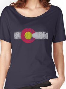 Vintage State Flag of Colorado Women's Relaxed Fit T-Shirt