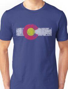 Vintage State Flag of Colorado Unisex T-Shirt
