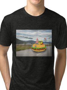 Patty Wagon Tri-blend T-Shirt