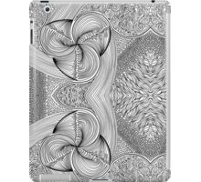 Abstract Uncoloured 120 iPad Case/Skin