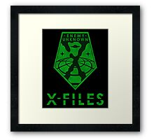 X-FILES: Enemy Unknown Framed Print