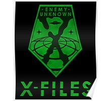X-FILES: Enemy Unknown Poster
