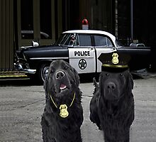 "☞ º°""˜`""°☜♥☞ BAD BOYS TAKEN FROM THEME SONG-POLICE DOGS THROW PILLOW ☞ º°""˜`""°☜♥☞ Photographic Print"