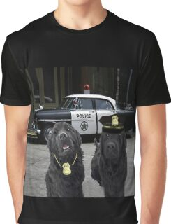 """☞ º°""""˜`""""°☜♥☞ BAD BOYS TAKEN FROM THEME SONG-POLICE DOGS THROW PILLOW ☞ º°""""˜`""""°☜♥☞ Graphic T-Shirt"""
