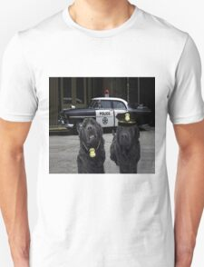 """☞ º°""""˜`""""°☜♥☞ BAD BOYS TAKEN FROM THEME SONG-POLICE DOGS THROW PILLOW ☞ º°""""˜`""""°☜♥☞ Unisex T-Shirt"""