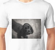 Black Cocker Spaniel Puppy Unisex T-Shirt