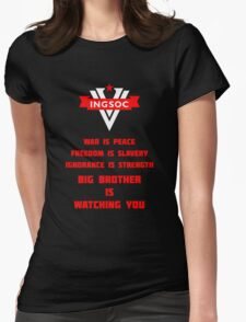 INGSOC Guidelines Womens Fitted T-Shirt