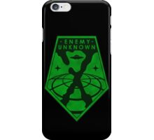 X-Files: Enemy Unkown Badge iPhone Case/Skin