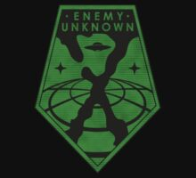 X-Files: Enemy Unkown Badge by JalbertAMV