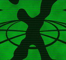 X-Files: Enemy Unkown Badge Sticker