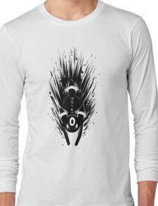 Umbreon ブラッキー Inky Design Long Sleeve T-Shirt