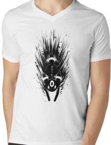Umbreon ブラッキー Inky Design Mens V-Neck T-Shirt
