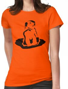 groundhog Womens Fitted T-Shirt