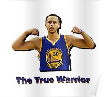 Steph Curry: The True Warrrior Poster