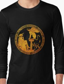 Oedipus and the Sphinx  Long Sleeve T-Shirt