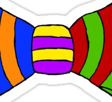 Rainbow Bowtie Sticker