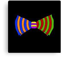 Rainbow Bowtie Canvas Print