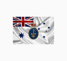 Royal Australian Navy Badge over RAN Ensign Unisex T-Shirt