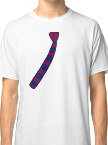 Hipster Knitted Tie Classic T-Shirt