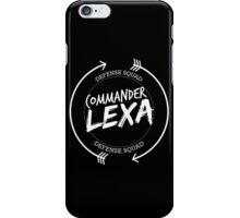 COMMANDER LEXA DEFENSE SQUAD iPhone Case/Skin
