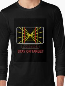 Stay On Target Use the Force Long Sleeve T-Shirt
