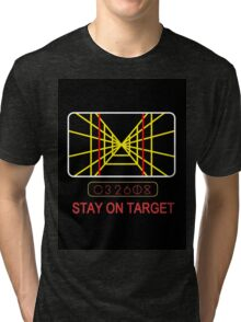Stay On Target Use the Force Tri-blend T-Shirt