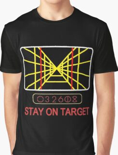 Stay On Target Use the Force Graphic T-Shirt