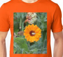Yellow Flower Green Insect Unisex T-Shirt