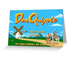 Don Quixote | The Video Game Greeting Card