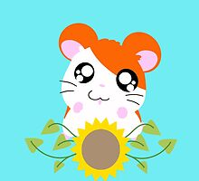 Hamtaro // Sunflower by my-d1spute