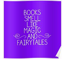 Books Magic Fairytales Poster