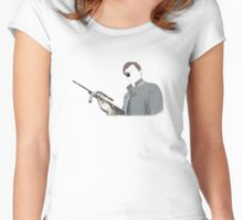 The Governor - Minimalist Design Women's Fitted Scoop T-Shirt