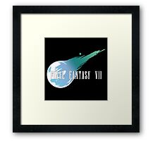 Meteor Logo - Final Fantasy VII Framed Print