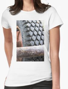 Tire Womens Fitted T-Shirt
