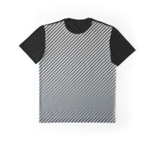 Twilight/Daytime Fade | Striped Graphic T-Shirt