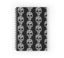 Intricate Skull Design Spiral Notebook