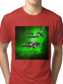 Green lambo  Tri-blend T-Shirt