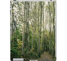 Trees are giants. iPad Case/Skin