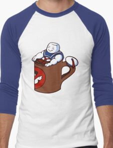 Cup of Stay Puft Men's Baseball ¾ T-Shirt
