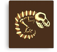 Dino Fossils Canvas Print