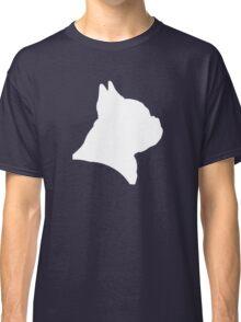 French Bulldog (in white) Classic T-Shirt