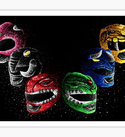 Mighty Morphin Power Rangers Sticker