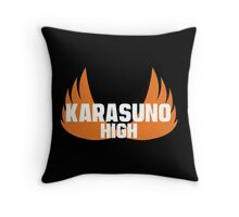 Karasuno High Throw Pillow