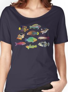 Tropical Fish of the World Women's Relaxed Fit T-Shirt