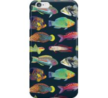 Tropical Fish of the World iPhone Case/Skin