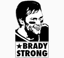 "Tom Brady is ""BRADY STRONG""  Men's Baseball ¾ T-Shirt"