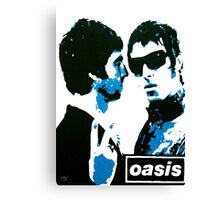 The Gallagher Brothers Canvas Print