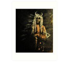 Spirit Chief Art Print
